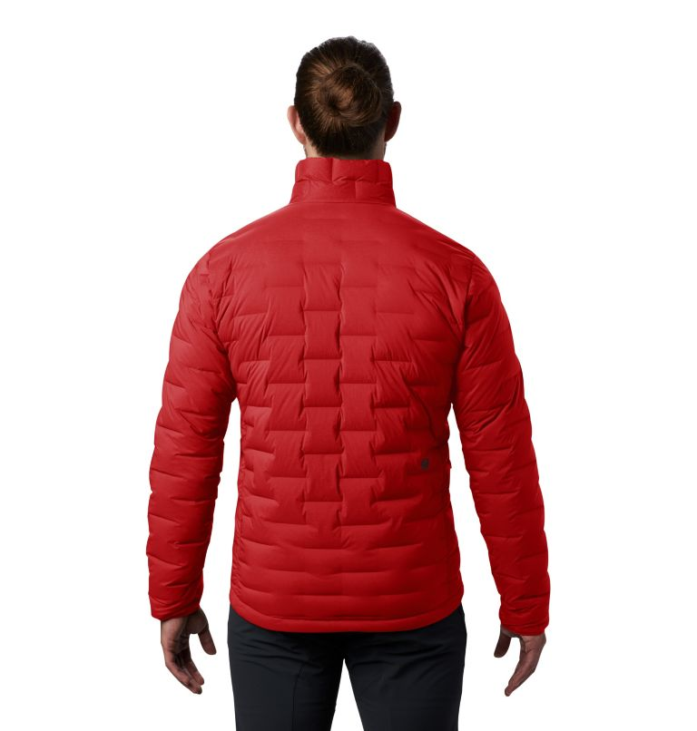 Super/DS™ Jacket | 851 | XL Men's Super/DS™ Stretchdown Jacket, Desert Red, back