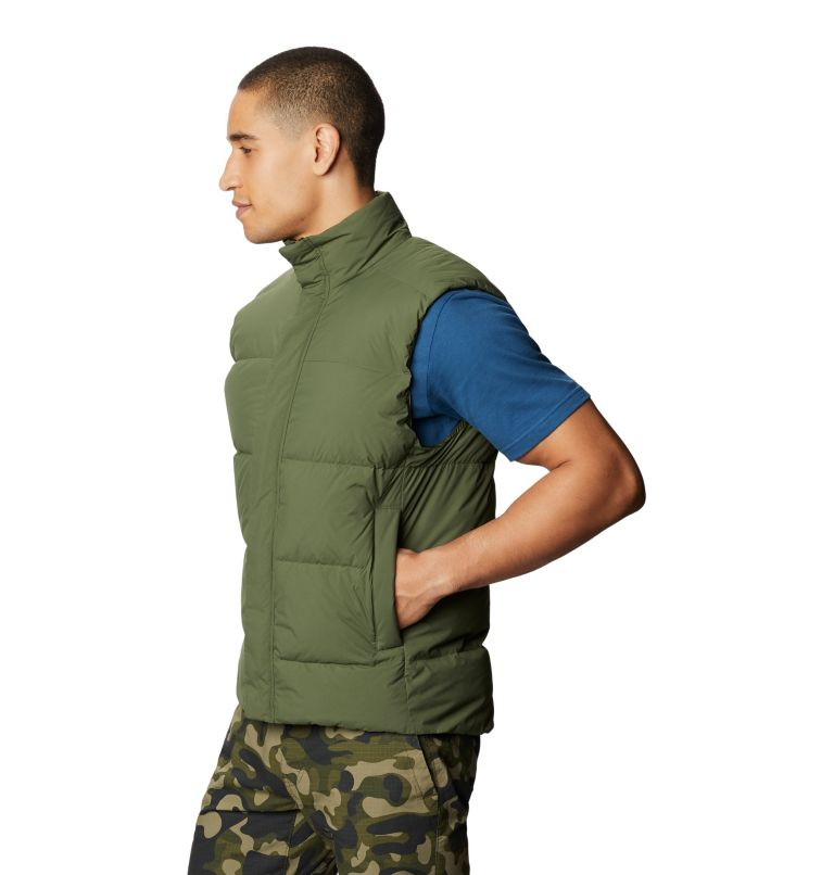 Glacial Storm™ Vest | 304 | M Men's Glacial Storm™ Vest, Dark Army, a1