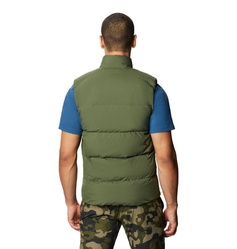 Glacial Storm™ Vest | 304 | M Men's Glacial Storm™ Vest, Dark Army, back