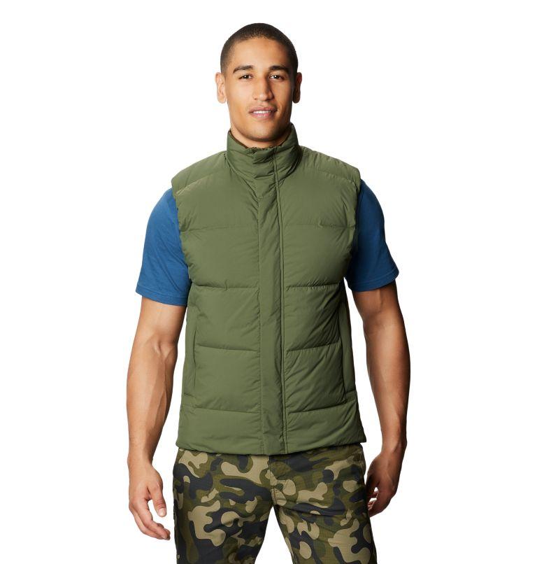 Glacial Storm™ Vest | 304 | M Men's Glacial Storm™ Vest, Dark Army, front