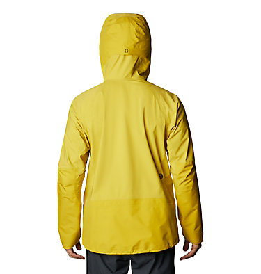 Men's High Exposure™ Gore-Tex® C-Knit™ Jacket High Exposure™ Gore-Tex C-Knit™ Jacket | 794 | L, Citron Sun, back