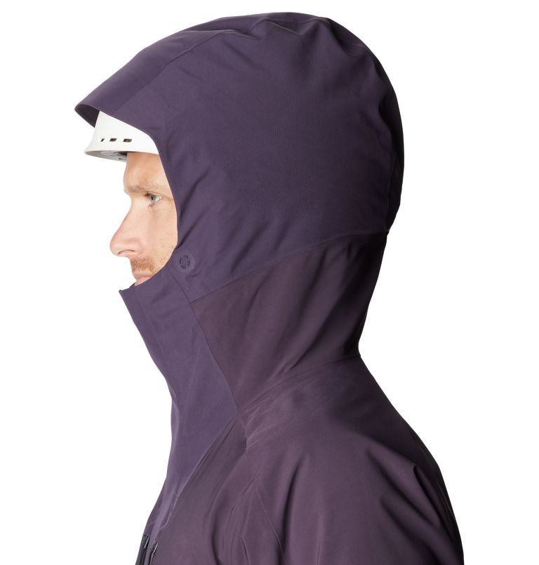 Cloud Bank™ Gore-Tex Insulated Jacket | 599 | M Men's Cloud Bank™ Gore-Tex® Insulated Jacket, Blurple, a3