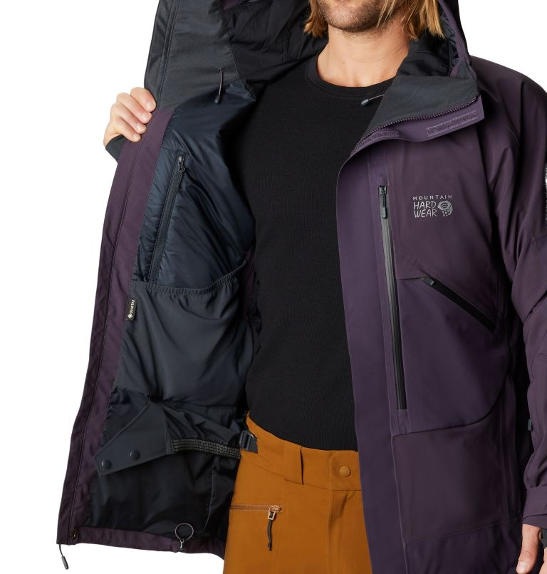 Cloud Bank™ Gore-Tex Insulated Jacket | 599 | M Men's Cloud Bank™ Gore-Tex® Insulated Jacket, Blurple, a7