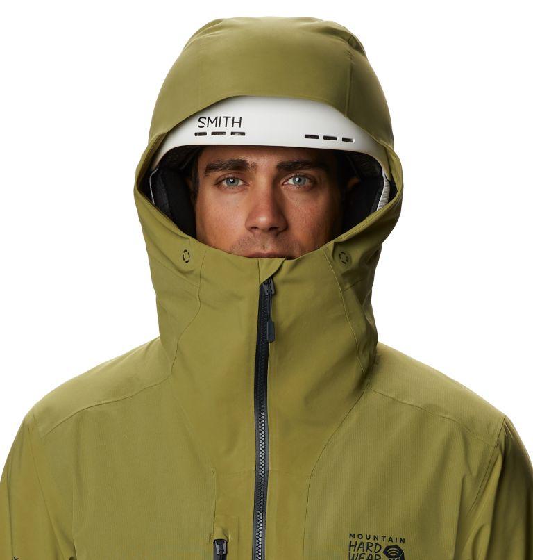 Cloud Bank™ Gore-Tex Jacket | 303 | S Men's Cloud Bank™ Gore-Tex® Jacket, Fatigue Green, a2
