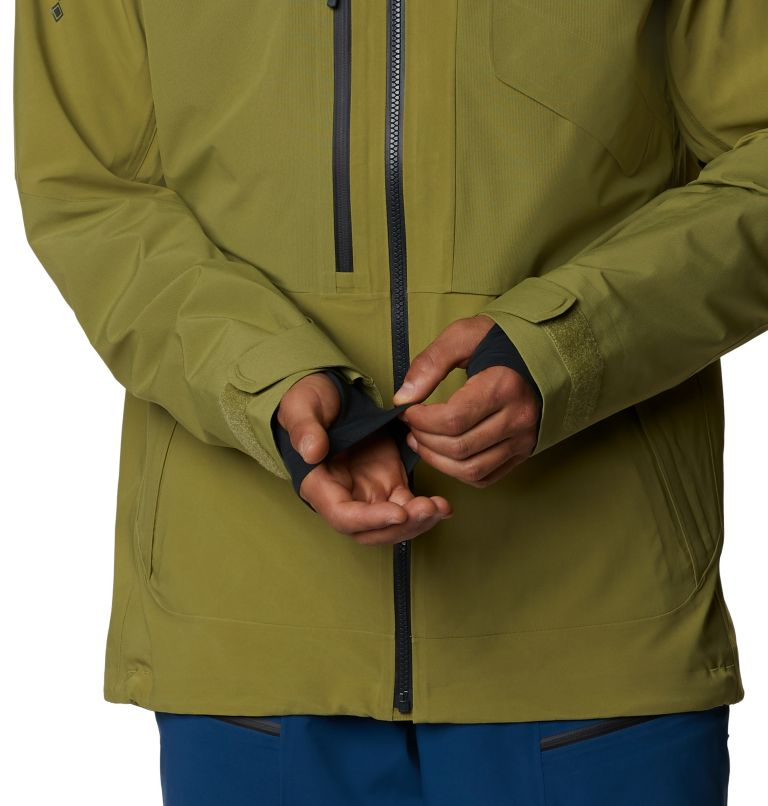 Cloud Bank™ Gore-Tex Jacket | 303 | S Men's Cloud Bank™ Gore-Tex® Jacket, Fatigue Green, a8