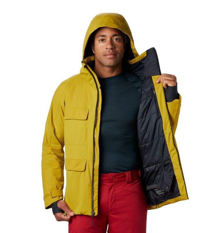 Firefall/2™ Insulated Jacket | 358 | M Firefall/2™ Insulated Jacket, Dark Citron, a2