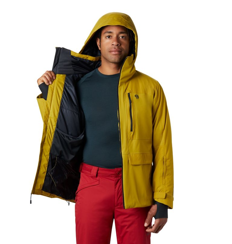 Firefall/2™ Insulated Jacket | 358 | M Firefall/2™ Insulated Jacket, Dark Citron, a3