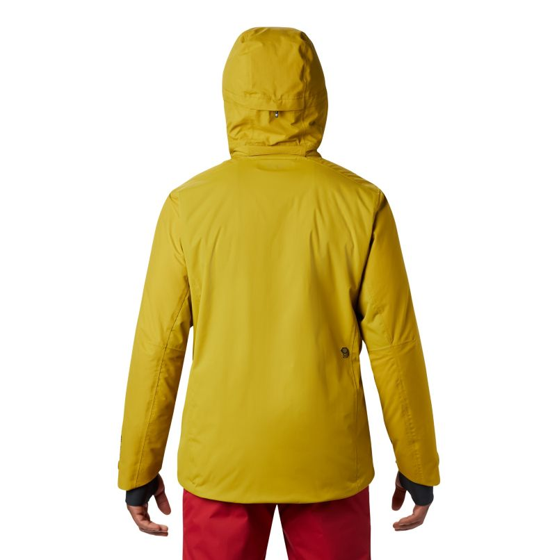 Firefall/2™ Insulated Jacket | 358 | M Firefall/2™ Insulated Jacket, Dark Citron, back