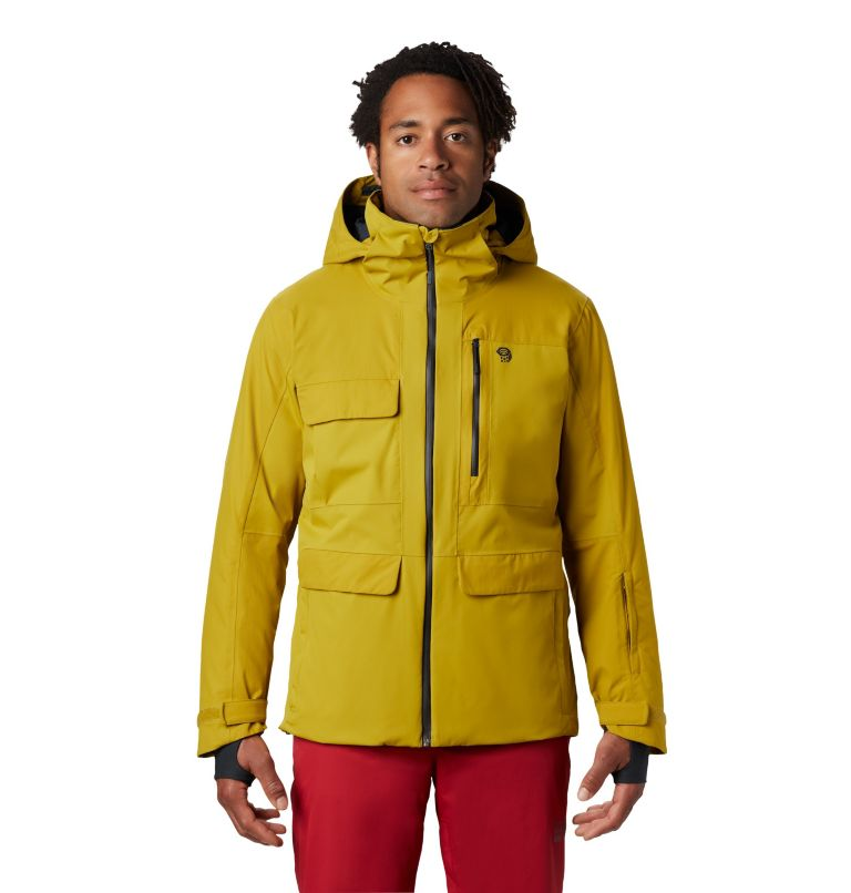 Firefall/2™ Insulated Jacket | 358 | M Firefall/2™ Insulated Jacket, Dark Citron, front