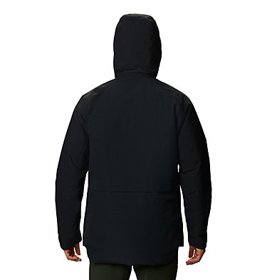 Men's Summit Shadow™ Hooded Down Jacket Summit Shadow™ Down Jacket | 209 | L, Black, back