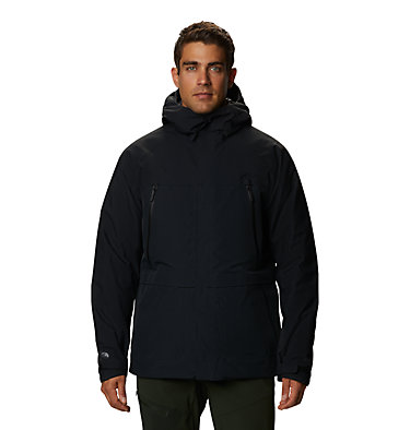 Men's Summit Shadow™ Hooded Down Jacket Summit Shadow™ Down Jacket | 209 | L, Black, front