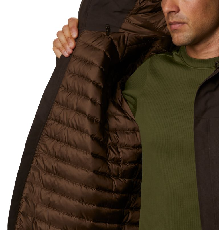 Men's Summit Shadow™ Hooded Down Jacket Men's Summit Shadow™ Hooded Down Jacket, a3