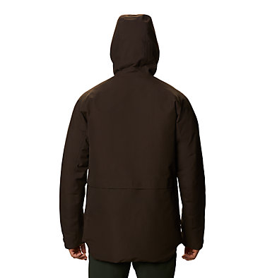 Men's Summit Shadow™ Hooded Down Jacket Summit Shadow™ Down Jacket | 209 | L, Dark Ash, back