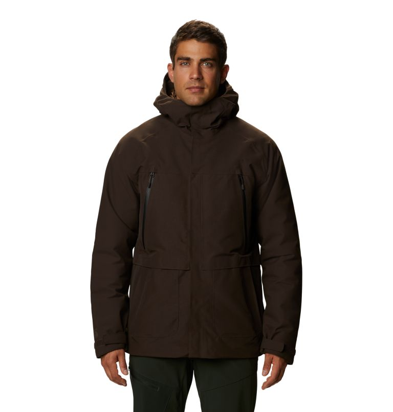 Men's Summit Shadow™ Hooded Down Jacket Men's Summit Shadow™ Hooded Down Jacket, front