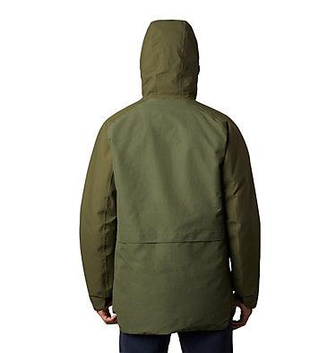 Men's Summit Shadow™ Hooded Down Jacket Summit Shadow™ Down Jacket | 209 | L, Dark Army, back
