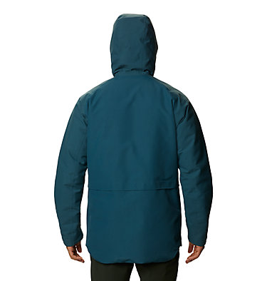 Men's Summit Shadow™ Hooded Down Jacket Summit Shadow™ Down Jacket | 209 | L, Icelandic, back