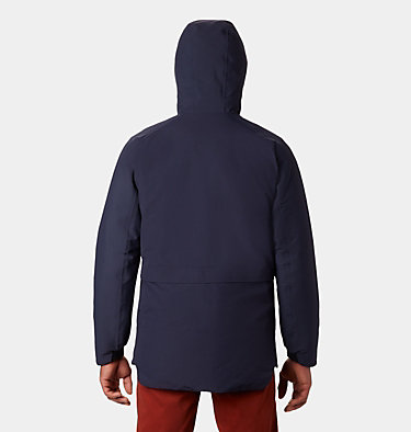 Men's Summit Shadow™ Hooded Down Jacket Summit Shadow™ Down Jacket | 209 | L, Dark Zinc, back