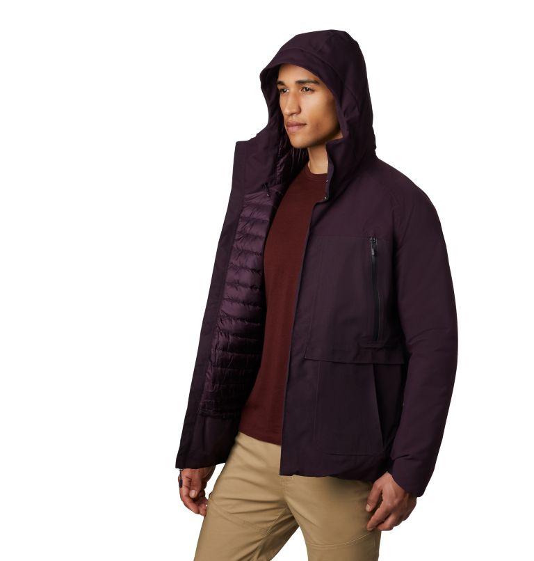 Men's Summit Shadow™ Hooded Down Jacket Men's Summit Shadow™ Hooded Down Jacket, a5