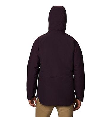 Men's Summit Shadow™ Hooded Down Jacket Summit Shadow™ Down Jacket | 209 | L, Darkest Dawn, back