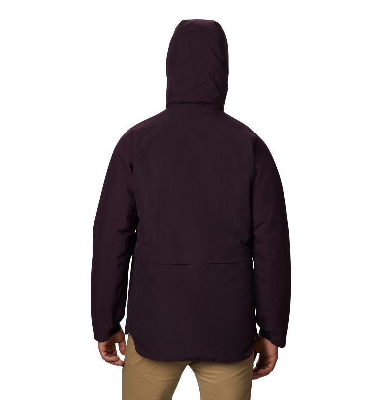 Men's Summit Shadow™ Hooded Down Jacket Men's Summit Shadow™ Hooded Down Jacket, back