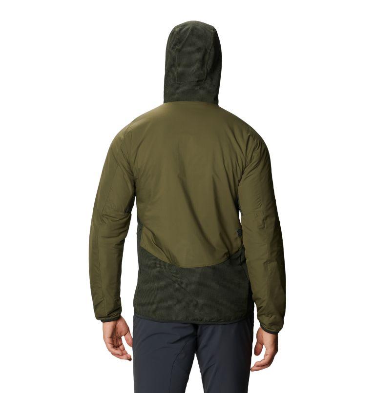 Kor Strata Climb Jacket | 305 | S Men's Kor Strata Climb Jacket, Dark Army, back