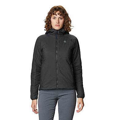 Women's Kor Strata™ Hooded Jacket Kor Strata™ Hooded Jacket   004   L, Dark Storm, front