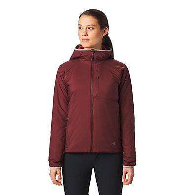 Women's Kor Strata™ Hooded Jacket Kor Strata™ Hooded Jacket   004   L, Dark Umber, front