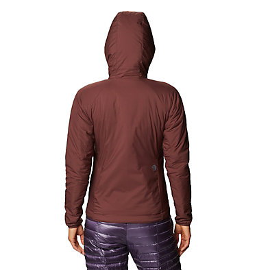 Women's Kor Strata™ Hooded Jacket Kor Strata™ Hooded Jacket   004   L, Washed Raisin, back