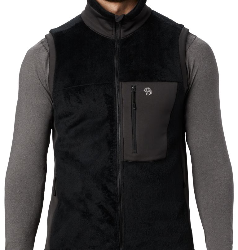 Monkey Fleece™ Vest | 010 | S Men's Polartec® High Loft™ Vest, Black, a1