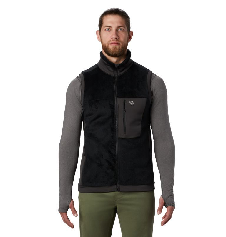 Monkey Fleece™ Vest | 010 | S Men's Polartec® High Loft™ Vest, Black, front
