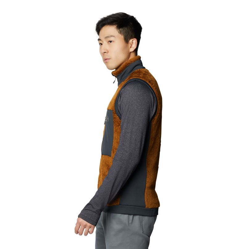 Monkey Fleece™ Vest | 233 | S Men's Polartec® High Loft™ Vest, Golden Brown, a1