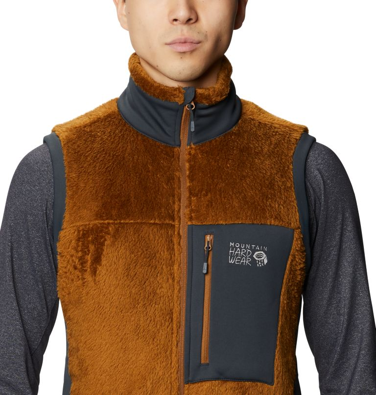 Monkey Fleece™ Vest | 233 | S Men's Polartec® High Loft™ Vest, Golden Brown, a2