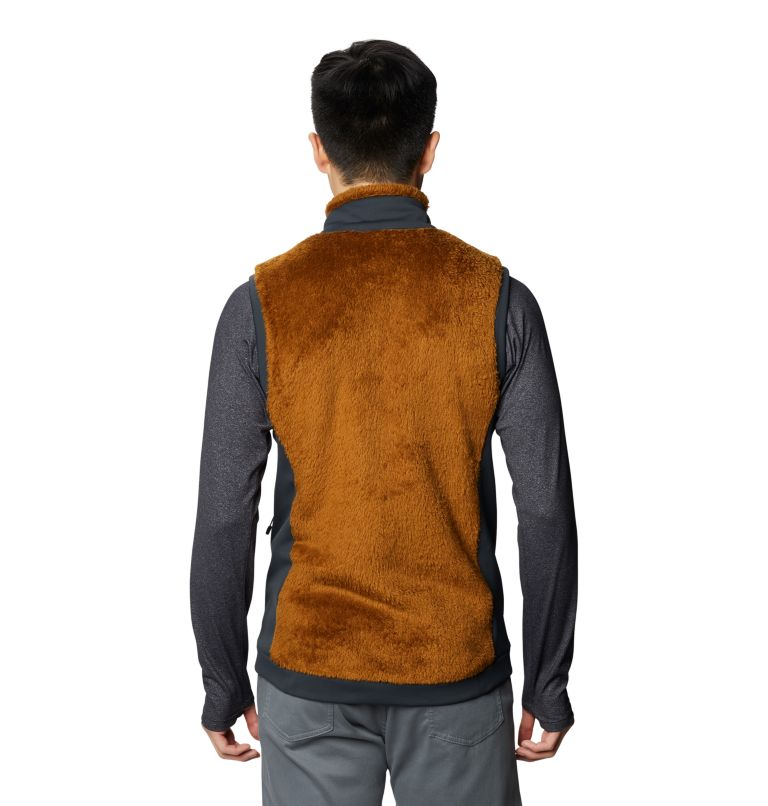 Monkey Fleece™ Vest | 233 | S Men's Polartec® High Loft™ Vest, Golden Brown, back