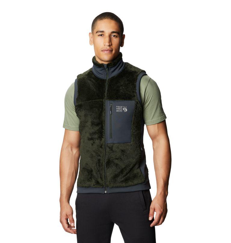 Monkey Fleece™ Vest | 306 | L Men's Polartec® High Loft™ Vest, Black Sage, front