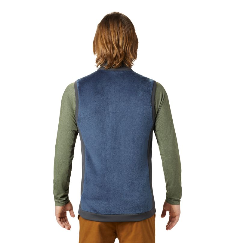 Monkey Fleece™ Vest | 492 | XXL Men's Polartec® High Loft™ Vest, Zinc, back