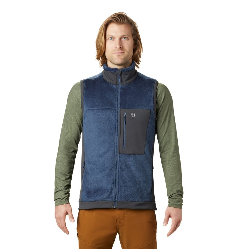 Monkey Fleece™ Vest | 492 | XXL Men's Polartec® High Loft™ Vest, Zinc, front