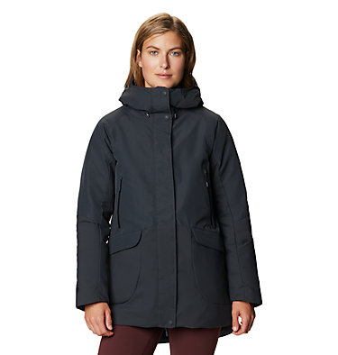 Women's Summit Shadow™ Down Parka Summit Shadow™ Down Parka | 629 | L, Dark Storm, front