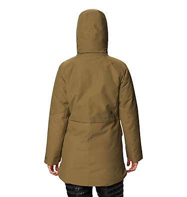 Women's Summit Shadow™ Down Parka Summit Shadow™ Down Parka | 629 | L, Raw Clay, back