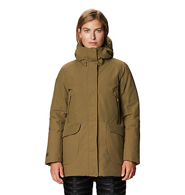 Women's Summit Shadow™ Down Parka Summit Shadow™ Down Parka | 629 | L, Raw Clay, front
