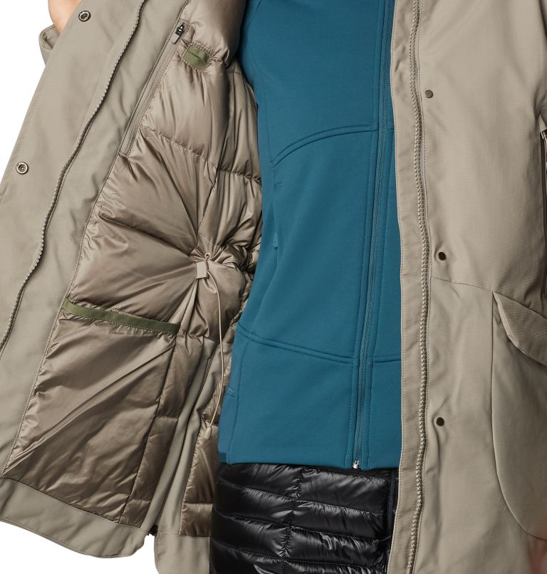 Summit Shadow™ Down Parka | 262 | L Women's Summit Shadow™ Down Parka, Dunes, a4