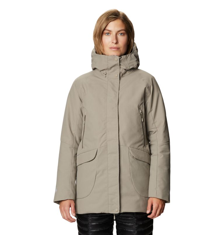 Summit Shadow™ Down Parka | 262 | L Women's Summit Shadow™ Down Parka, Dunes, front