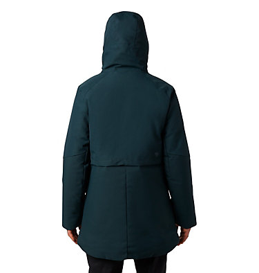 Women's Summit Shadow™ Down Parka Summit Shadow™ Down Parka | 629 | L, Blue Spruce, back