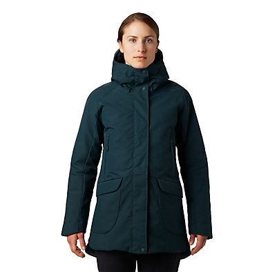 Women's Summit Shadow™ Down Parka Summit Shadow™ Down Parka | 629 | L, Blue Spruce, front