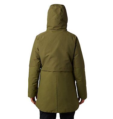 Women's Summit Shadow™ Down Parka Summit Shadow™ Down Parka | 629 | L, Combat Green, back