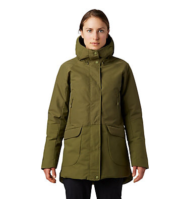 Women's Summit Shadow™ Down Parka Summit Shadow™ Down Parka | 629 | L, Combat Green, front