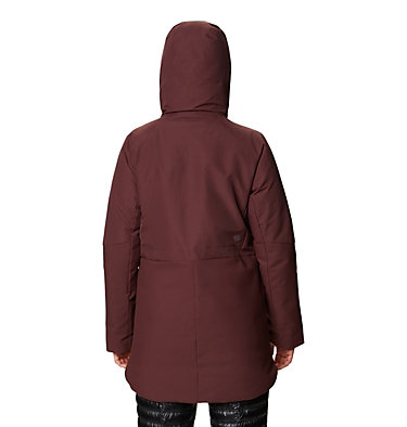 Women's Summit Shadow™ Down Parka Summit Shadow™ Down Parka | 629 | L, Washed Raisin, back