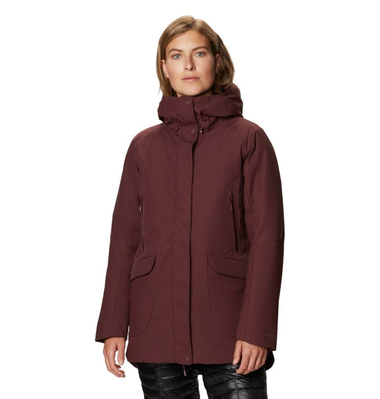 Women's Summit Shadow™ Down Parka Women's Summit Shadow™ Down Parka, front