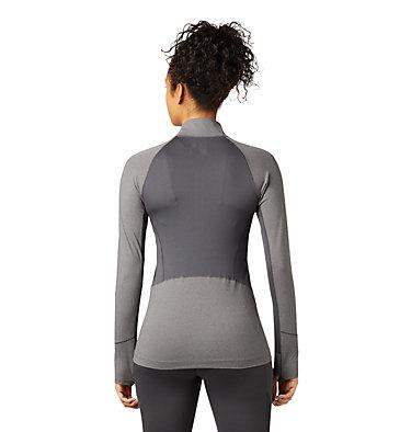 Women's Ghee™ Long Sleeve 1/4 Zip Ghee™ Long Sleeve 1/4 Zip | 011 | L, Shark, Heather, back