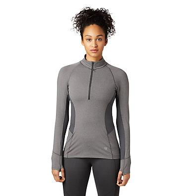 Women's Ghee™ Long Sleeve 1/4 Zip Ghee™ Long Sleeve 1/4 Zip | 011 | L, Shark, Heather, front
