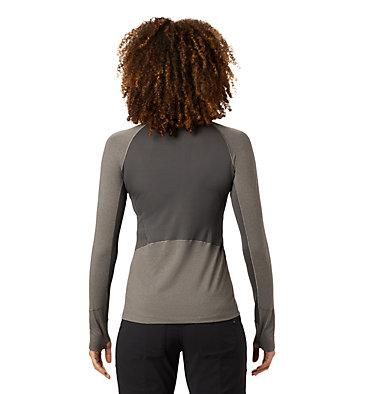 Women's Ghee™ Long Sleeve 1/4 Zip Ghee™ Long Sleeve 1/4 Zip | 011 | L, Shark Heather, back